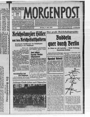 Berliner Morgenpost vom 07.07.1933