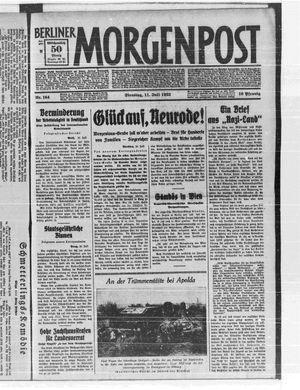Berliner Morgenpost vom 11.07.1933