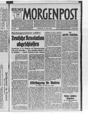 Berliner Morgenpost vom 12.07.1933