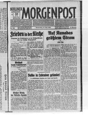 Berliner Morgenpost vom 13.07.1933