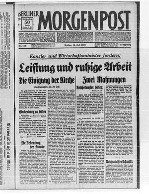 Berliner Morgenpost vom 14.07.1933
