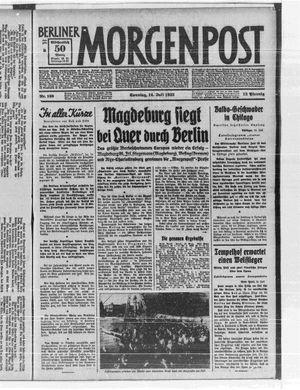 Berliner Morgenpost vom 16.07.1933