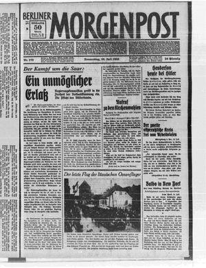 Berliner Morgenpost vom 20.07.1933