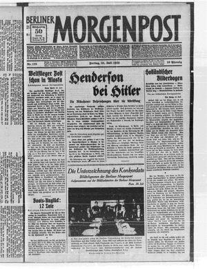 Berliner Morgenpost vom 21.07.1933