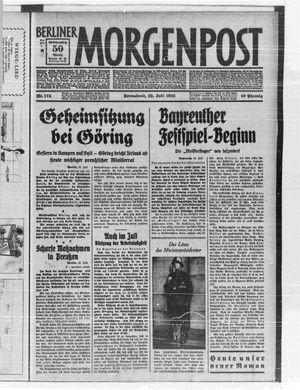 Berliner Morgenpost vom 22.07.1933