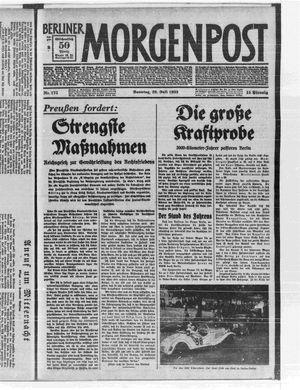 Berliner Morgenpost vom 23.07.1933