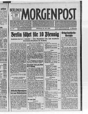 Berliner Morgenpost vom 26.07.1933
