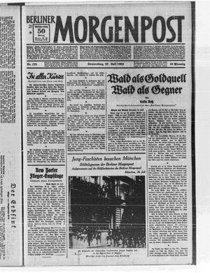Berliner Morgenpost vom 27.07.1933