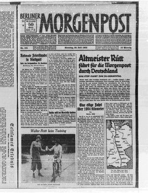 Berliner Morgenpost vom 30.07.1933
