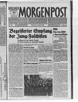 Berliner Morgenpost vom 02.08.1933