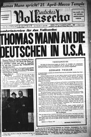 Deutsches Volksecho vom 17.04.1937