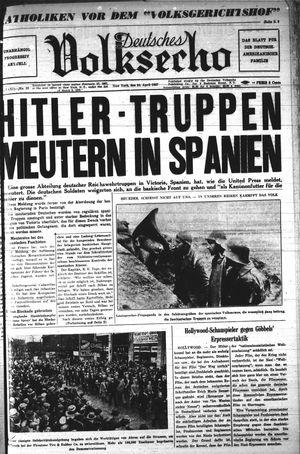 Deutsches Volksecho vom 24.04.1937