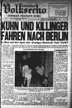 Deutsches Volksecho vom 26.02.1938