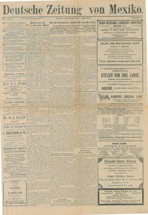 Deutsche Zeitung von Mexiko vom 01.03.1913