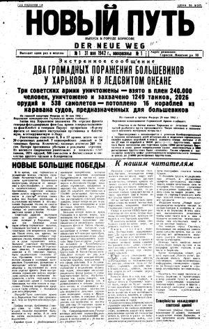 Novyj put' vom 31.05.1942