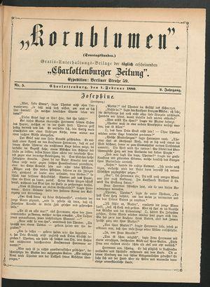 Kornblumen on Feb 1, 1880