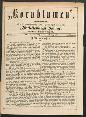 Kornblumen vom 14.03.1880