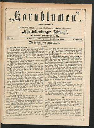 Kornblumen vom 28.03.1880