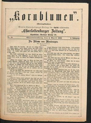 Kornblumen vom 04.04.1880