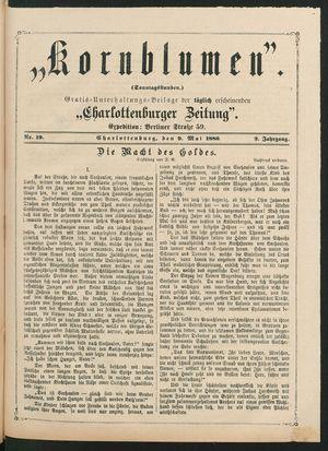 Kornblumen vom 09.05.1880