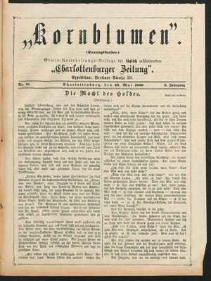 Kornblumen vom 23.05.1880