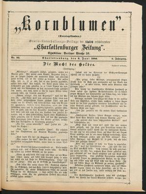 Kornblumen vom 06.06.1880