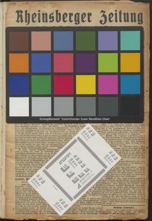 Rheinsberger Zeitung vom 02.04.1925