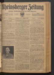 Rheinsberger Zeitung