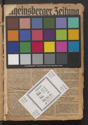 Rheinsberger Zeitung vom 01.01.1931