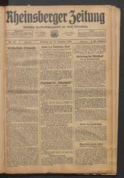 Rheinsberger Zeitung (18.12.1934)