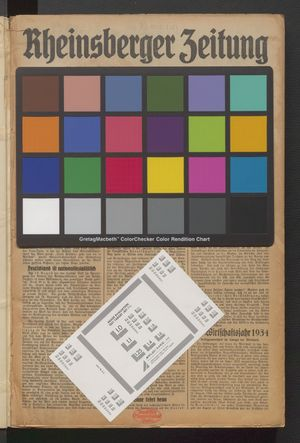 Rheinsberger Zeitung on Jan 1, 1935