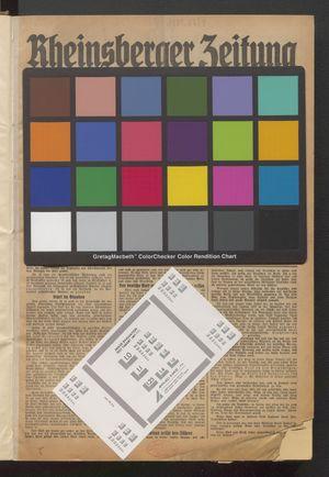 Rheinsberger Zeitung vom 02.01.1939