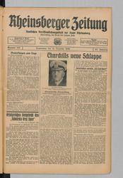 Rheinsberger Zeitung (14.12.1939)