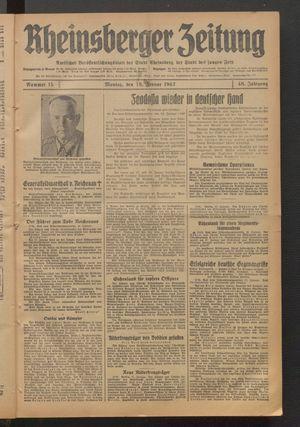 Rheinsberger Zeitung on Jan 19, 1942