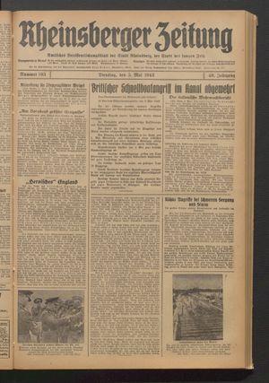 Rheinsberger Zeitung vom 05.05.1942