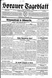 Sorauer Tageblatt (18.12.1928)