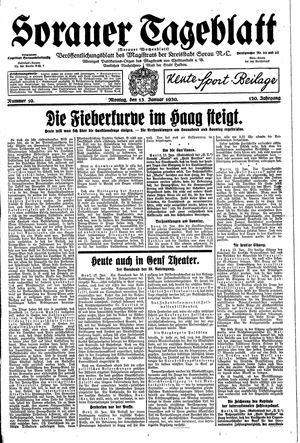 Sorauer Tageblatt vom 13.01.1930