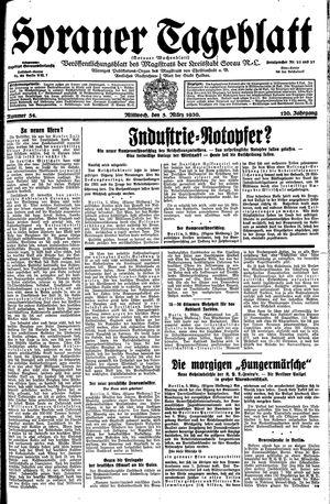 Sorauer Tageblatt on Mar 5, 1930