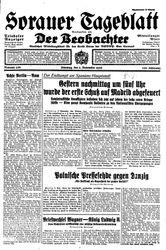 Sorauer Tageblatt