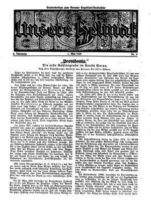 Sorauer Tageblatt vom 01.05.1939