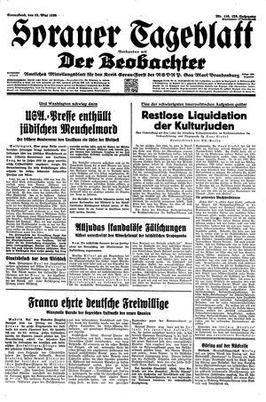 Sorauer Tageblatt vom 13.05.1939