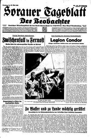 Sorauer Tageblatt vom 30.05.1939