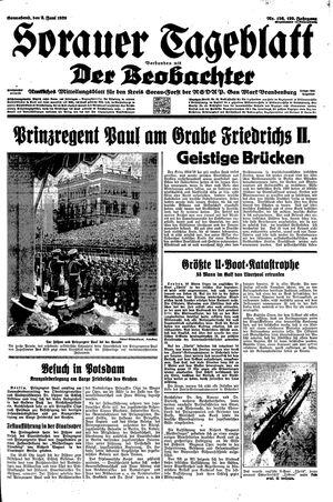 Sorauer Tageblatt vom 03.06.1939