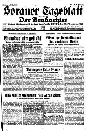 Sorauer Tageblatt vom 20.06.1939