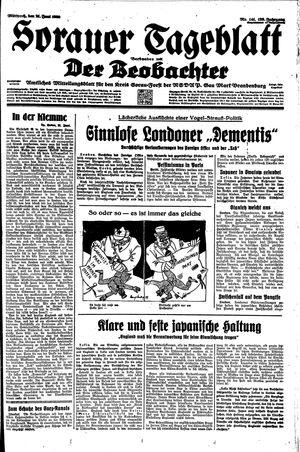 Sorauer Tageblatt vom 21.06.1939