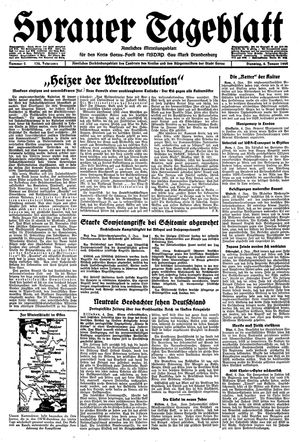 Sorauer Tageblatt on Jan 4, 1944