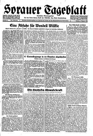 Sorauer Tageblatt vom 07.01.1944