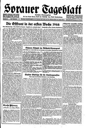 Sorauer Tageblatt on Jan 8, 1944
