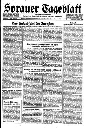 Sorauer Tageblatt vom 10.01.1944