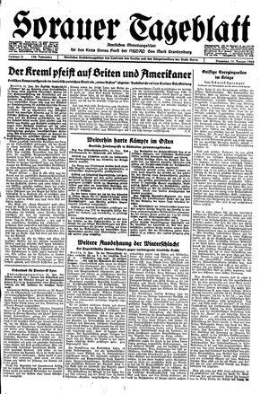 Sorauer Tageblatt vom 11.01.1944